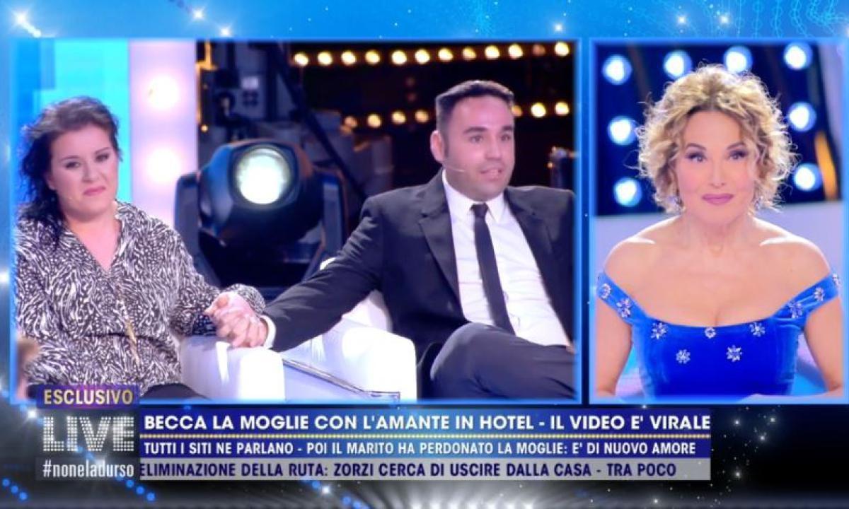 Gianluca e Grazia a  Live