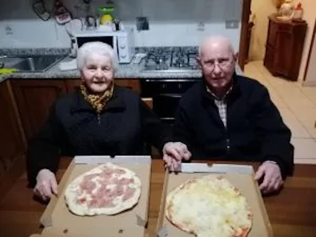 Pizze per Livia e Ivo