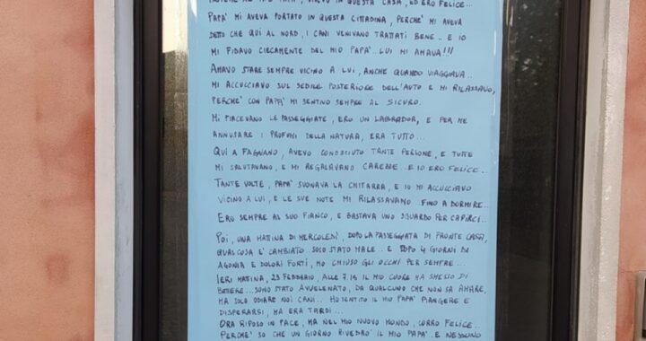 """""""Ucciso da chi non sa amare"""". La commovente lettera di Beethoven, il cane morto avvelenato. Tutti dovrebbero leggerla"""