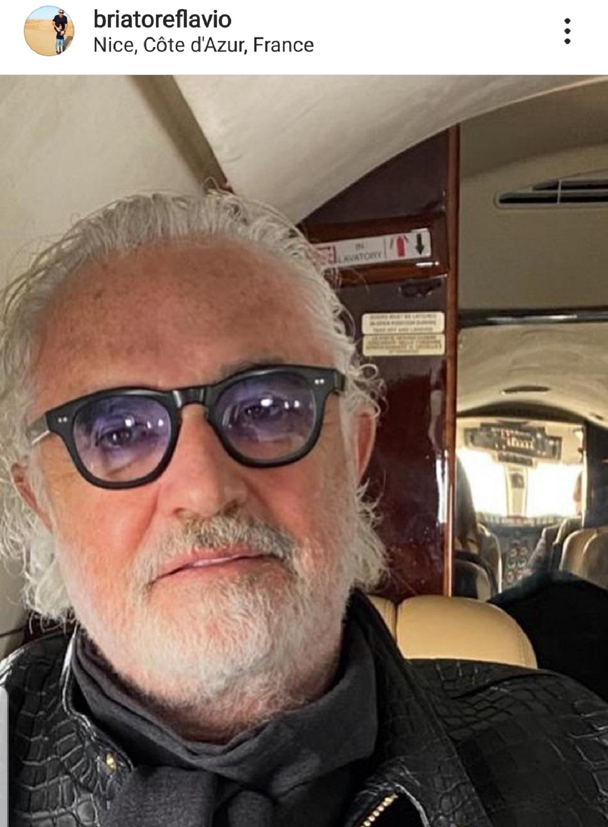 nuovo look per Briatore