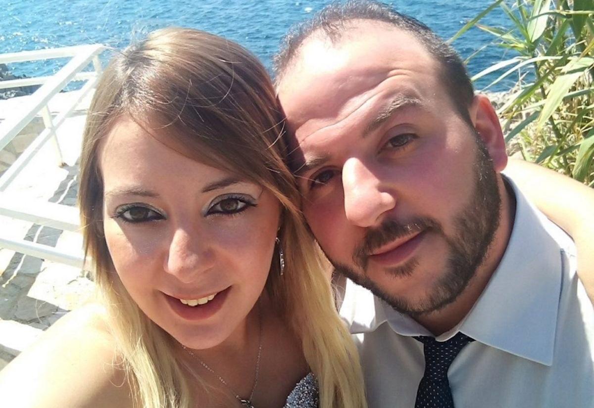 Piera Napoli col marito