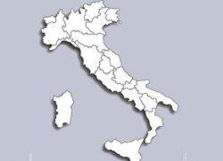 Penisola italiana fascia bianca