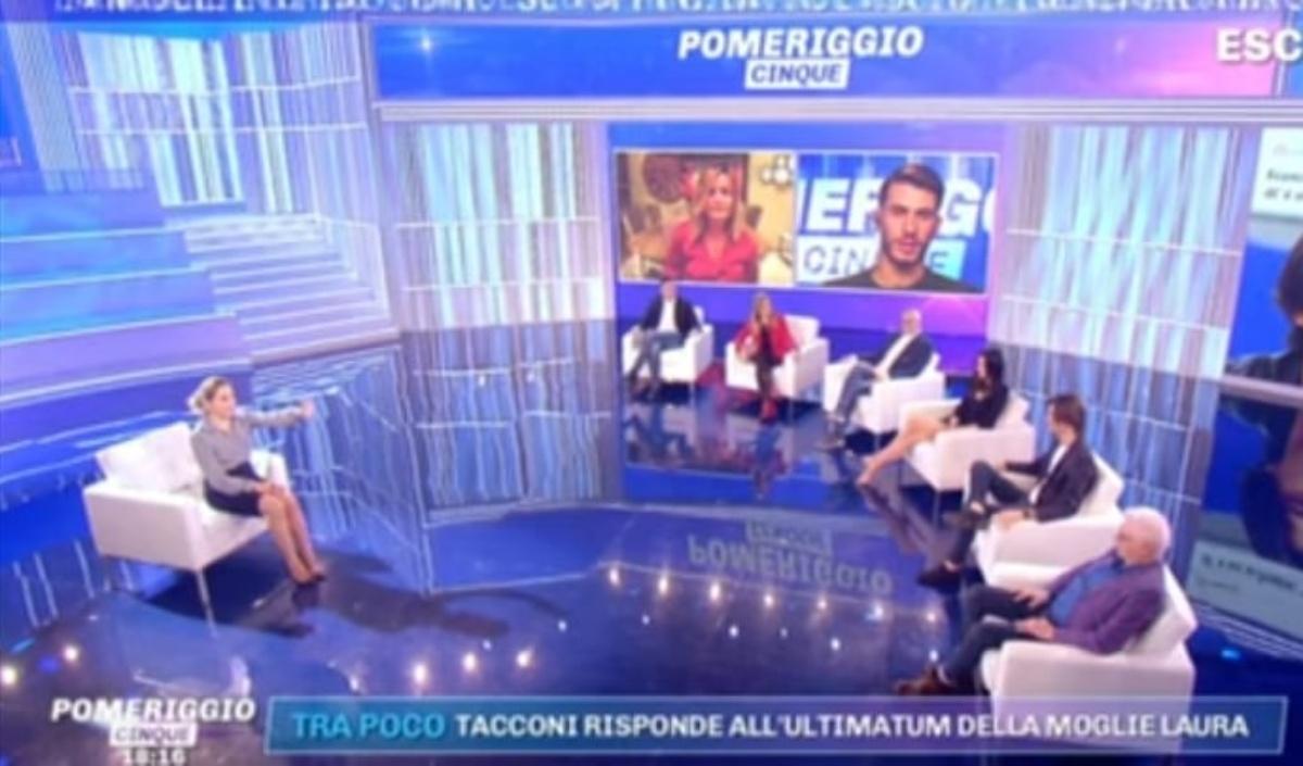 Stefano Tacconi spiazza tutti a Pomeriggio 5