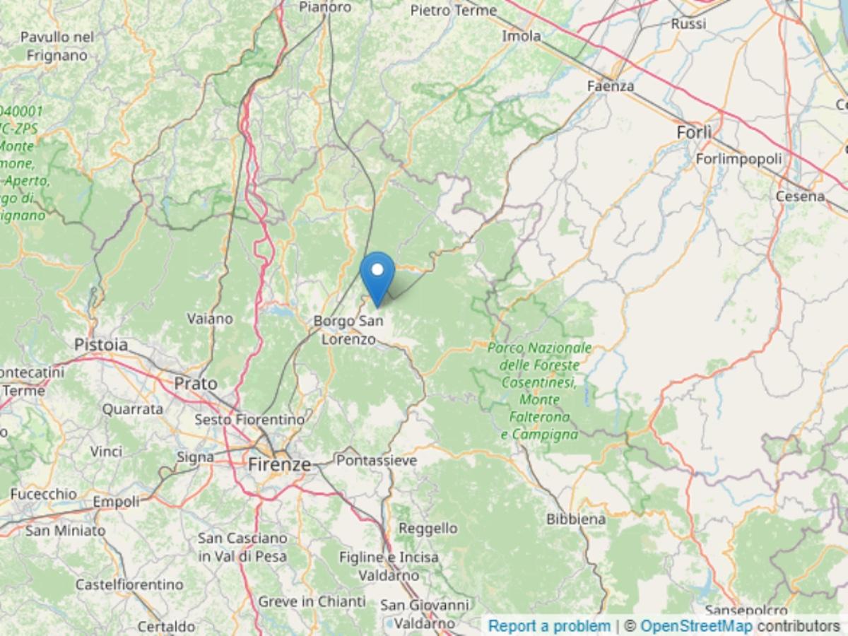Borgo San Lorenzo terremoto