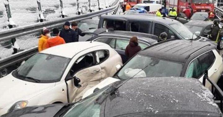 Torino-Bardonecchia incidente stradale