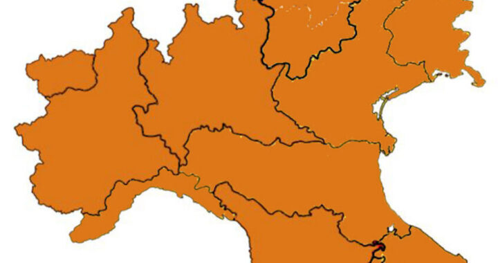 Italia in zona arancione