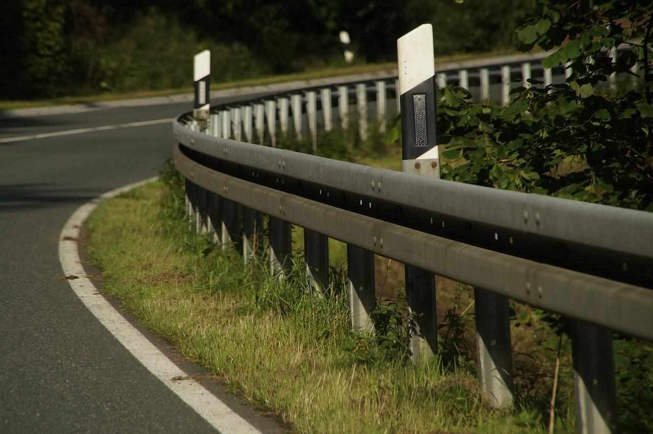 Strada dove è avvenuto l'incidente