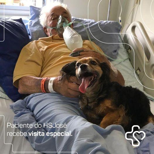Frederico Lucas Minatto e il suo cane