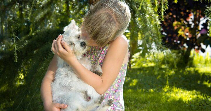 Cucciolo difende la ragazzina dalle accuse della mamma (VIDEO)