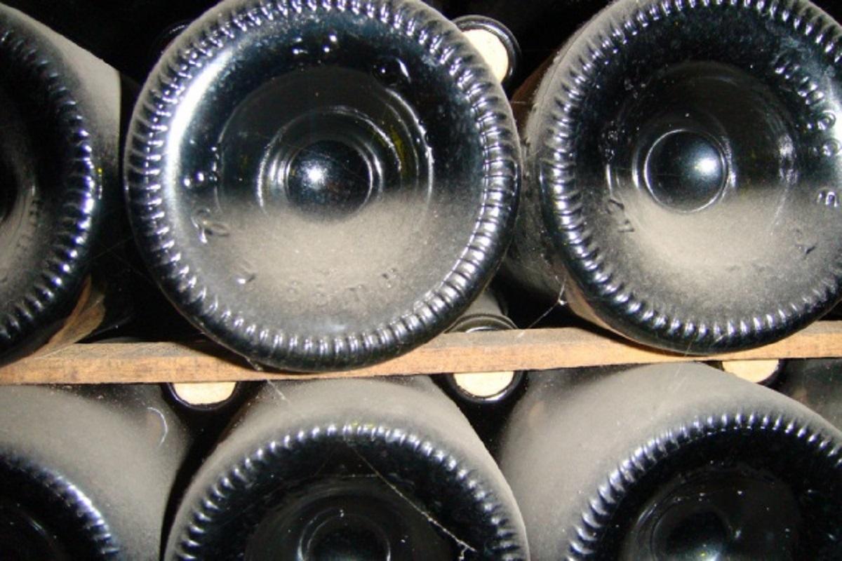 fondo rientrante delle bottiglie