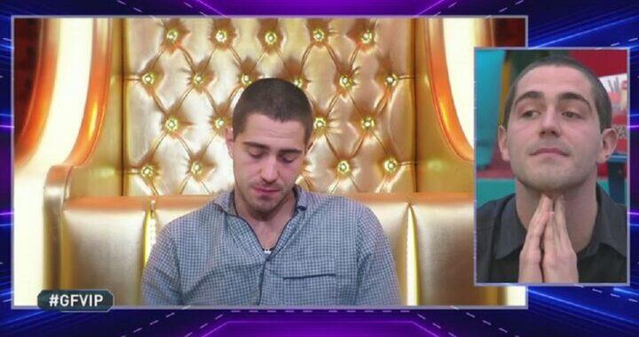"""GF Vip, Alfonso Signorini colpisce Tommaso Zorzi. Crollo dopo la diretta: """"Mi sono rovinato"""""""
