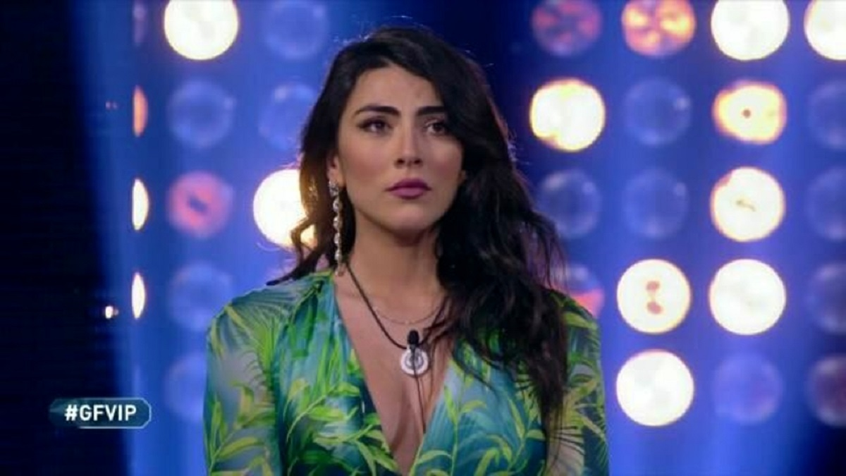 GF Vip: Giulia Salemi è fuori dal gioco