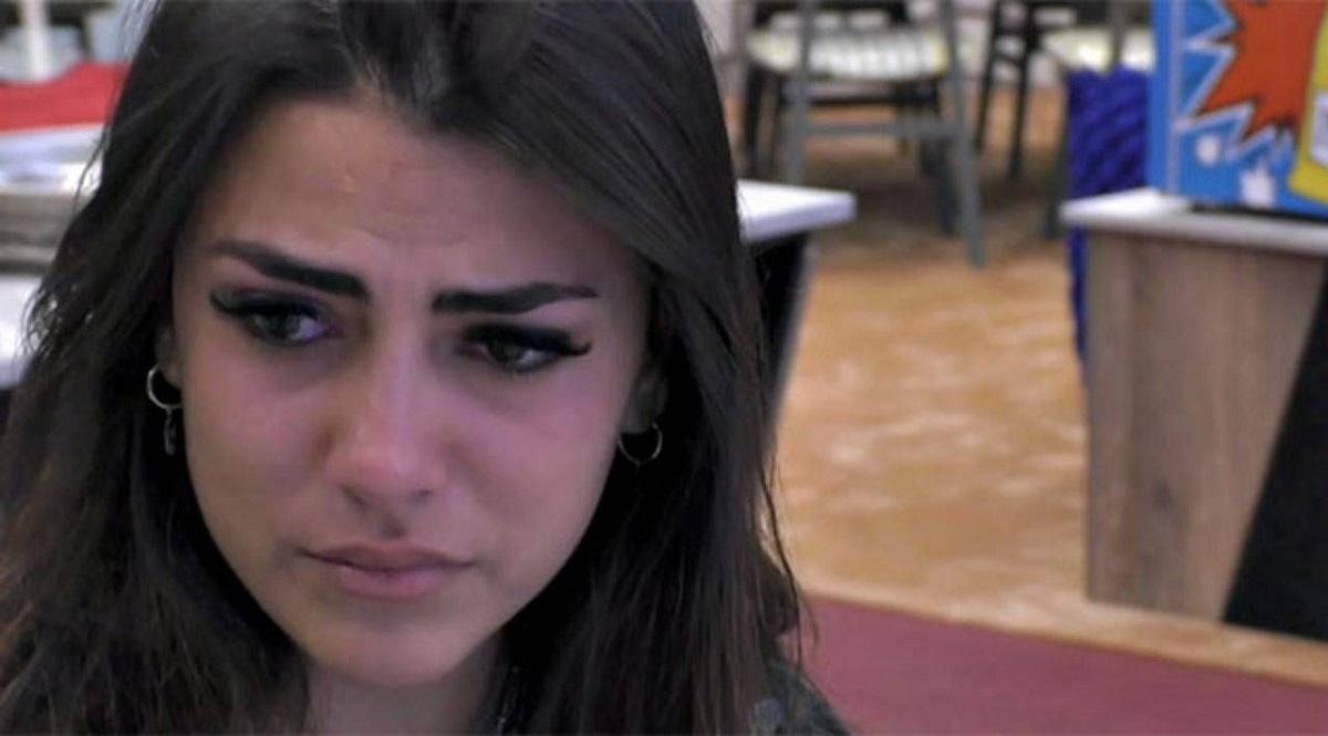 GF Vip, Giulia Salemi in lacrime dopo la puntata