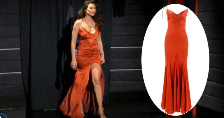 GF Vip: l'abito con il maxi spacco di Dayane Mello ha un prezzo da capogiro