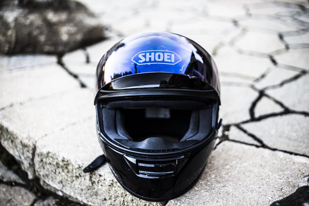 Schianto in moto