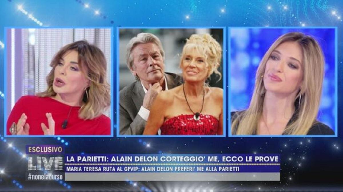 Live-Non è la D'Urso critiche su Maria Teresa Ruta