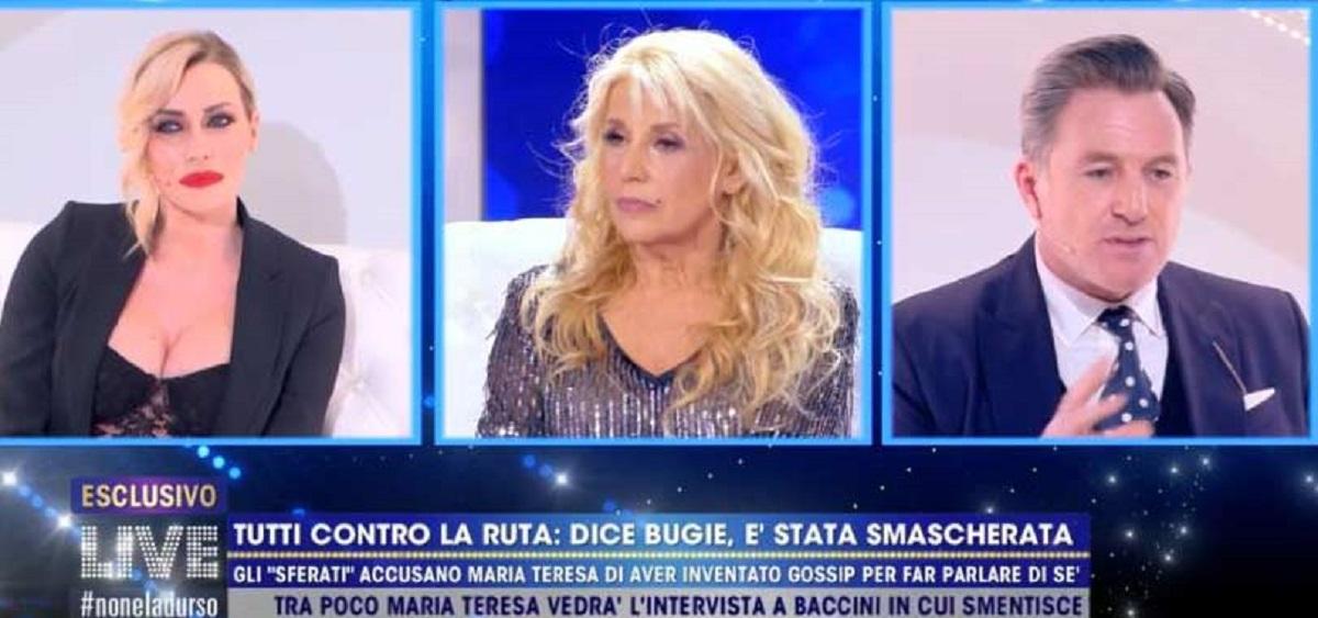 Maria Teresa Ruta rifiuta il confronto. Karina Cascella attacca