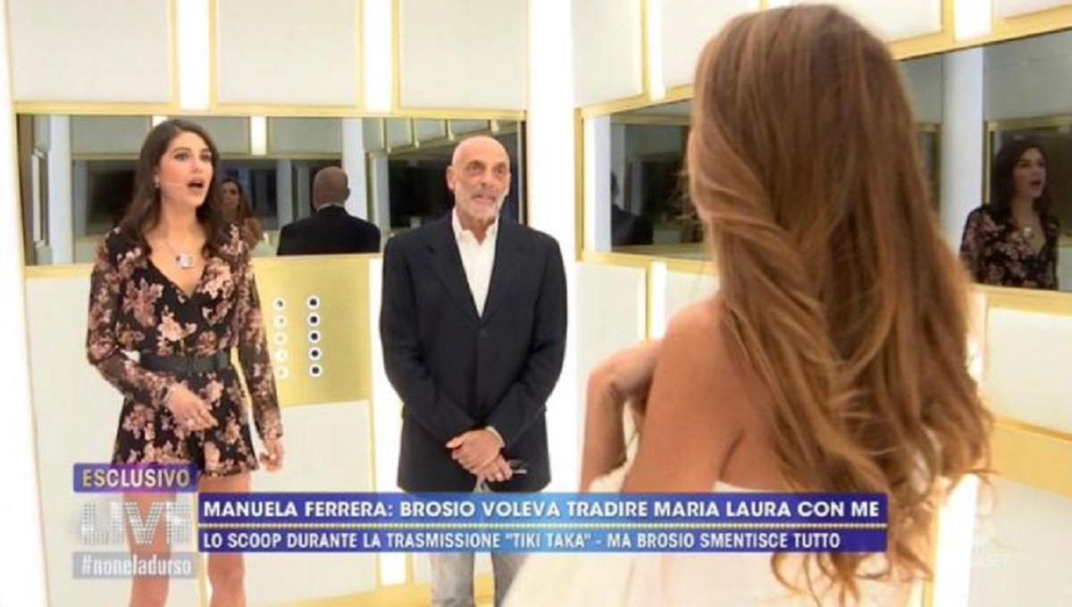 Paolo Brosio viene smascherato a Live