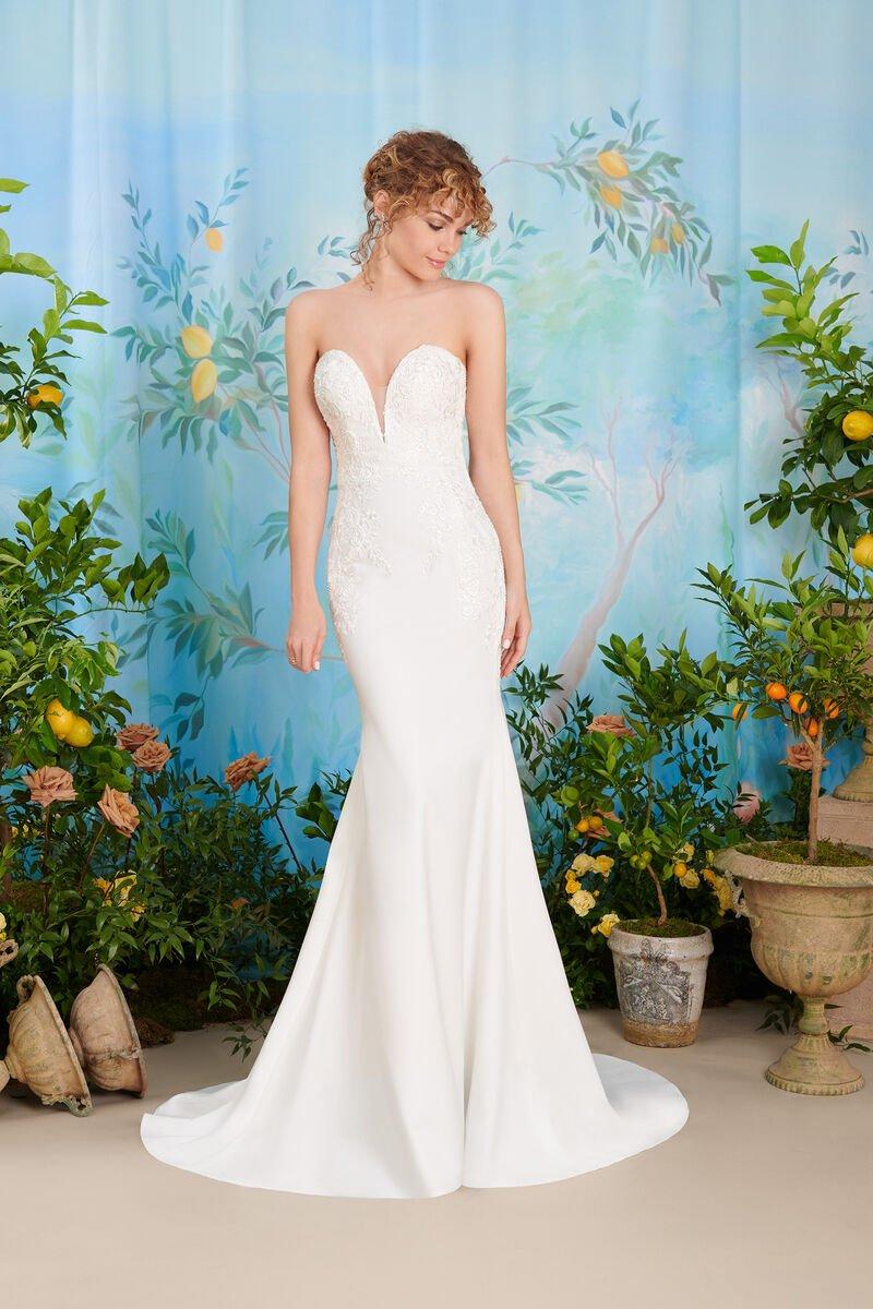 abito da sposa a sirena atelier eme