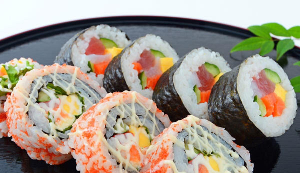 preparazione sushi