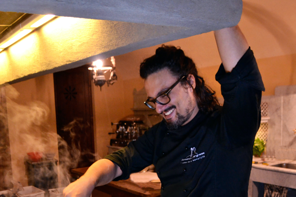 Alessandro Borghese cucina