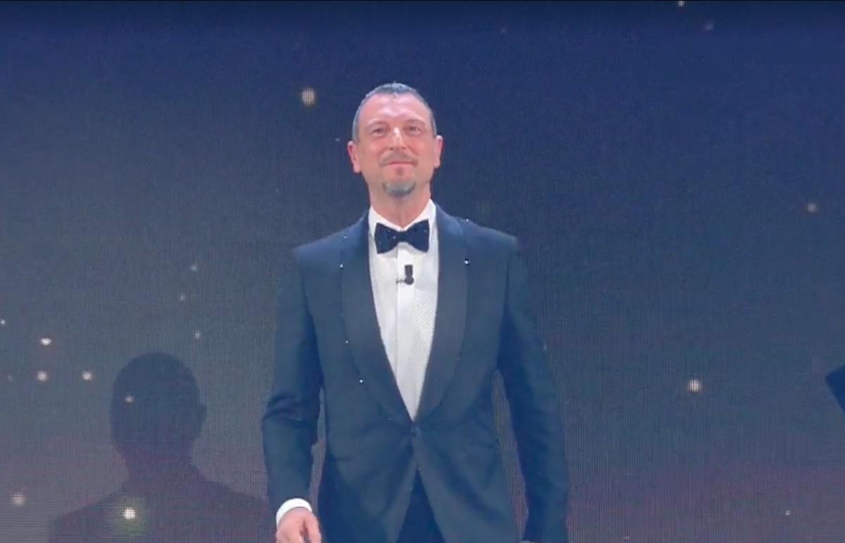 Amadeus presenta Sanremo