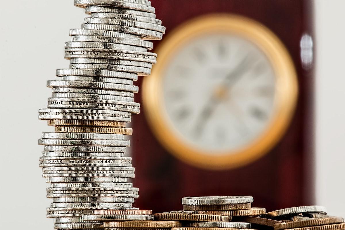 Pila di monete bonus 600 euro
