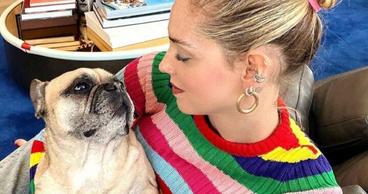 Chiara Ferragni preoccupata per la cagnolina Matilda