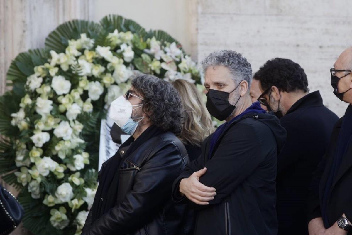 I funerali di Claudio Coccoluto