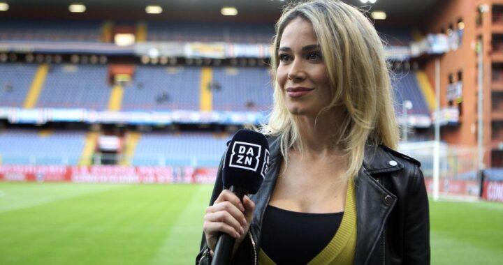 Diletta Leotta gaffe pazzesca a fine partita: non sapeva di essere ancora in onda! Cosa ha chiesto ai suoi collaboratori
