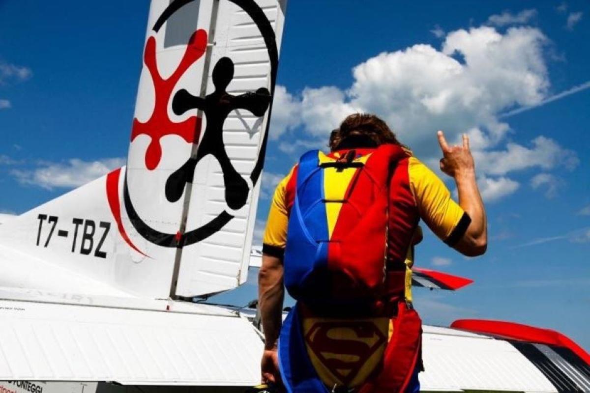 Morto Dimitri Didenko, campione di paracadutismo