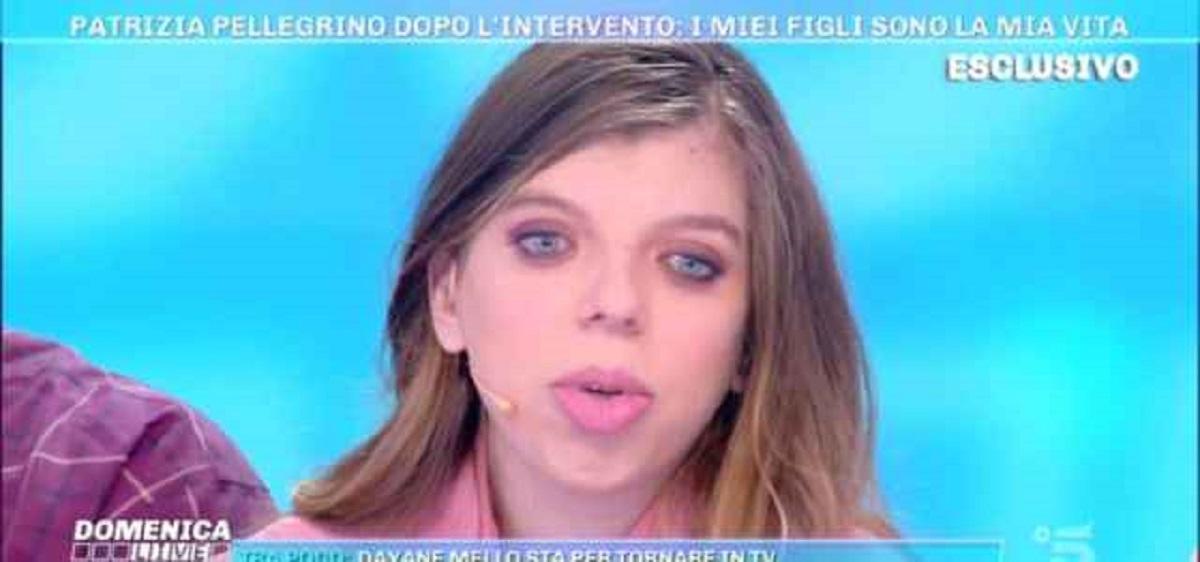 figlia di Patrizia Pellegrino