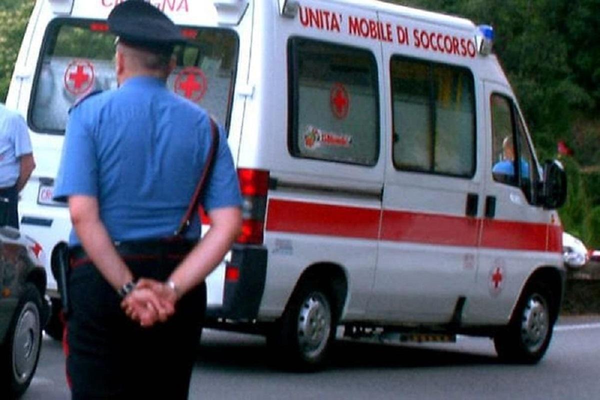 soccorsi e carabinieri