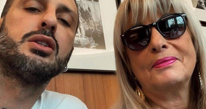 Fabrizio Corona insieme alla madre