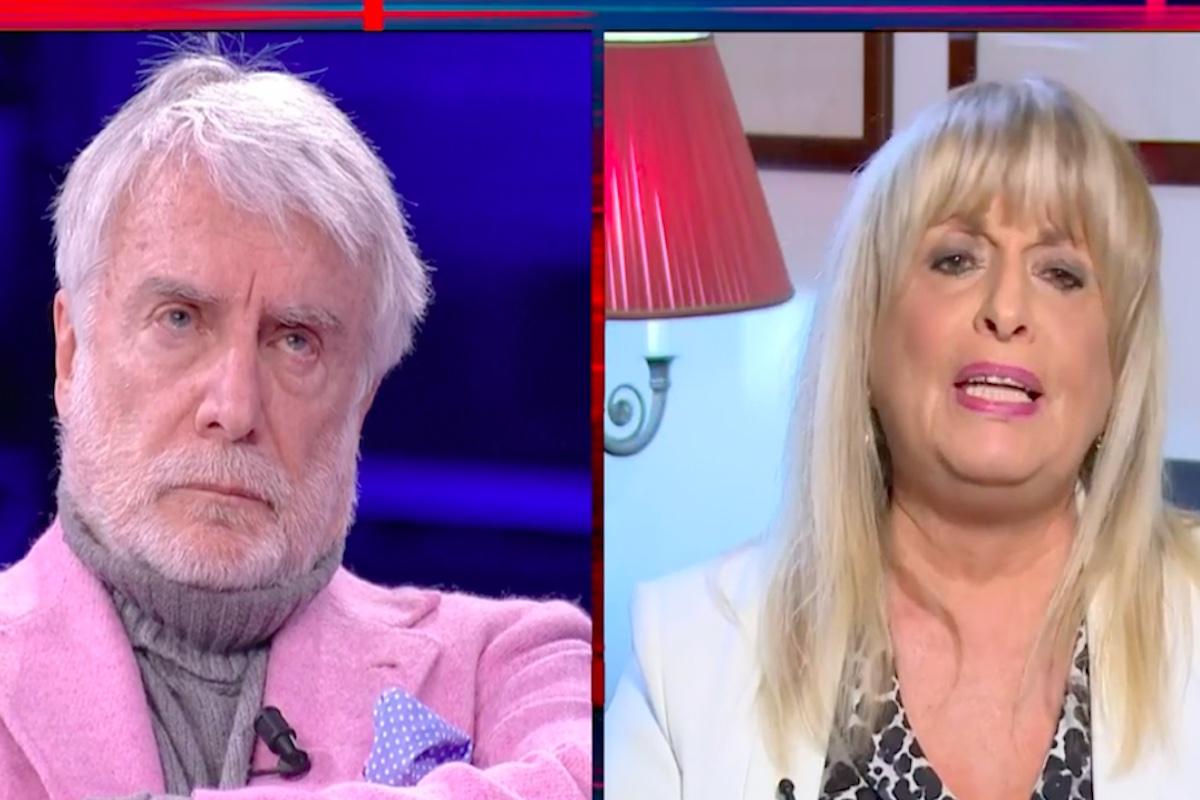 La madre di Fabrizio Corona in collegamento con Giletti