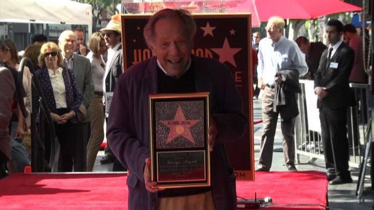 L'attore americano George Segal è scomparso a 87 anni