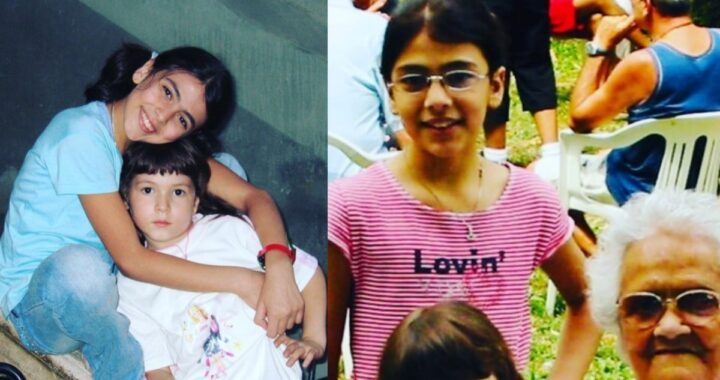 Giulia Salemi e la foto da bambina
