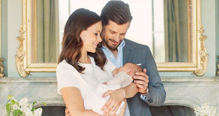 Gioia per la famiglia reale svedese: è nato il piccolo Julian Herbert Folke