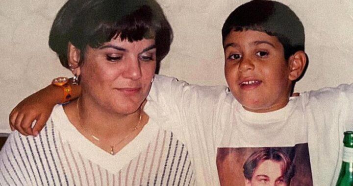 Mahmood e la foto della sua infanzia