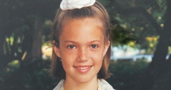 Oggi è una famosa attrice e cantante, diventata da poco mamma, ma qui era solo una bimba: l'avete riconosciuta?