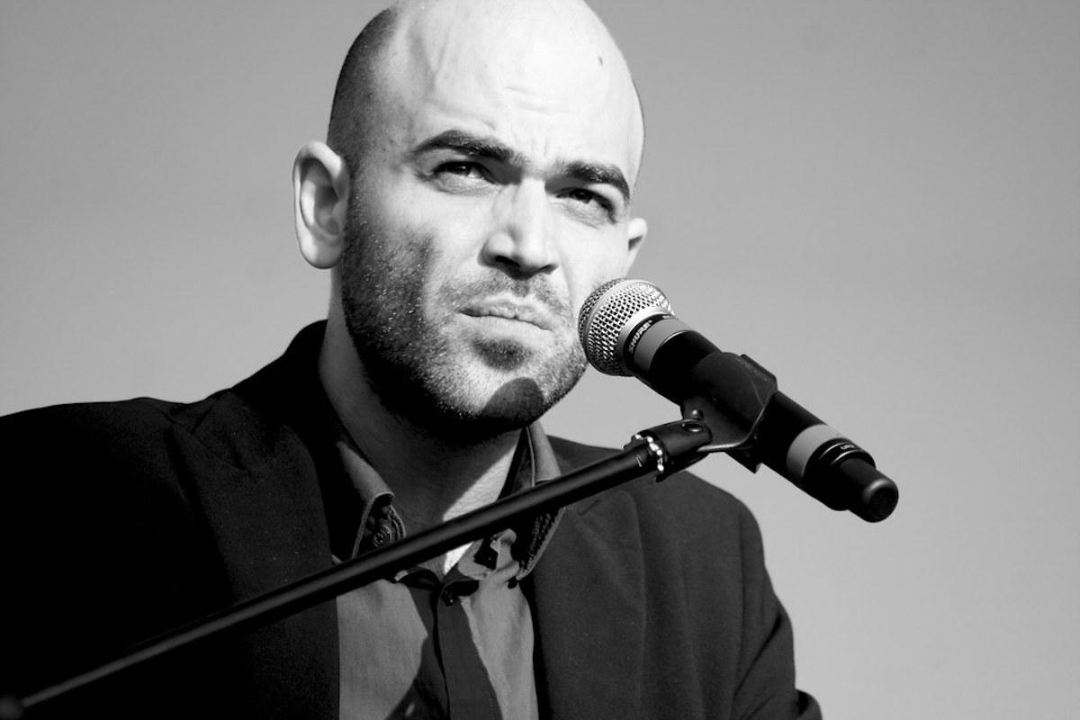 Roberto Saviano ad una manifestazione