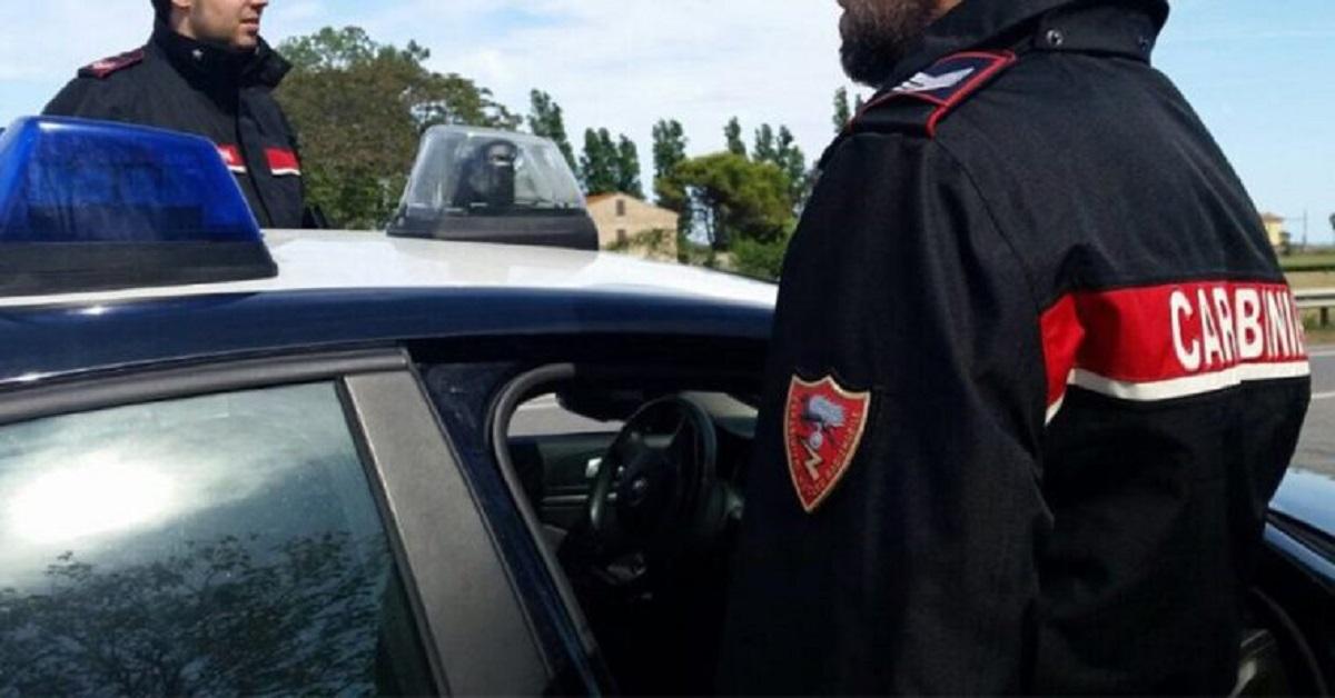 accertamenti carabinieri