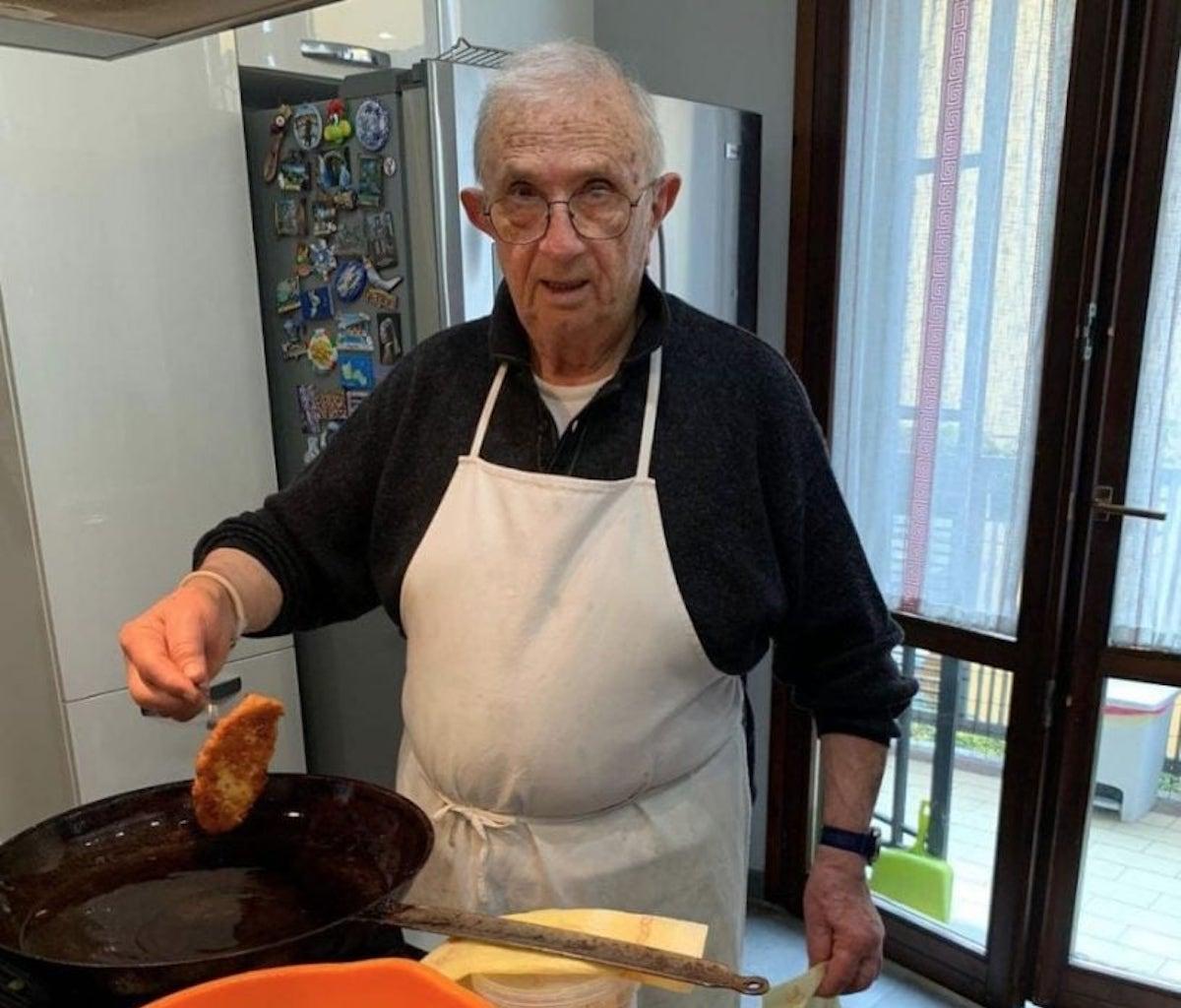 Signore cucina