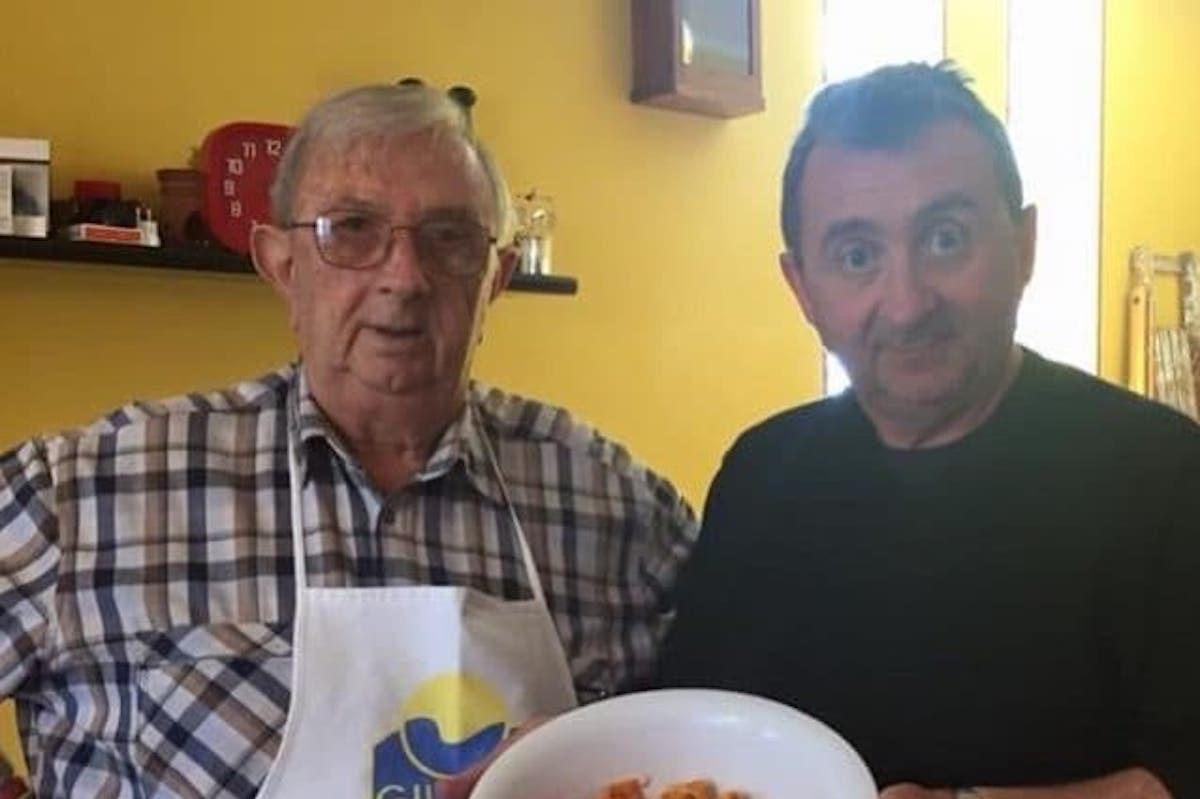 Bicocchi Vito con il padre