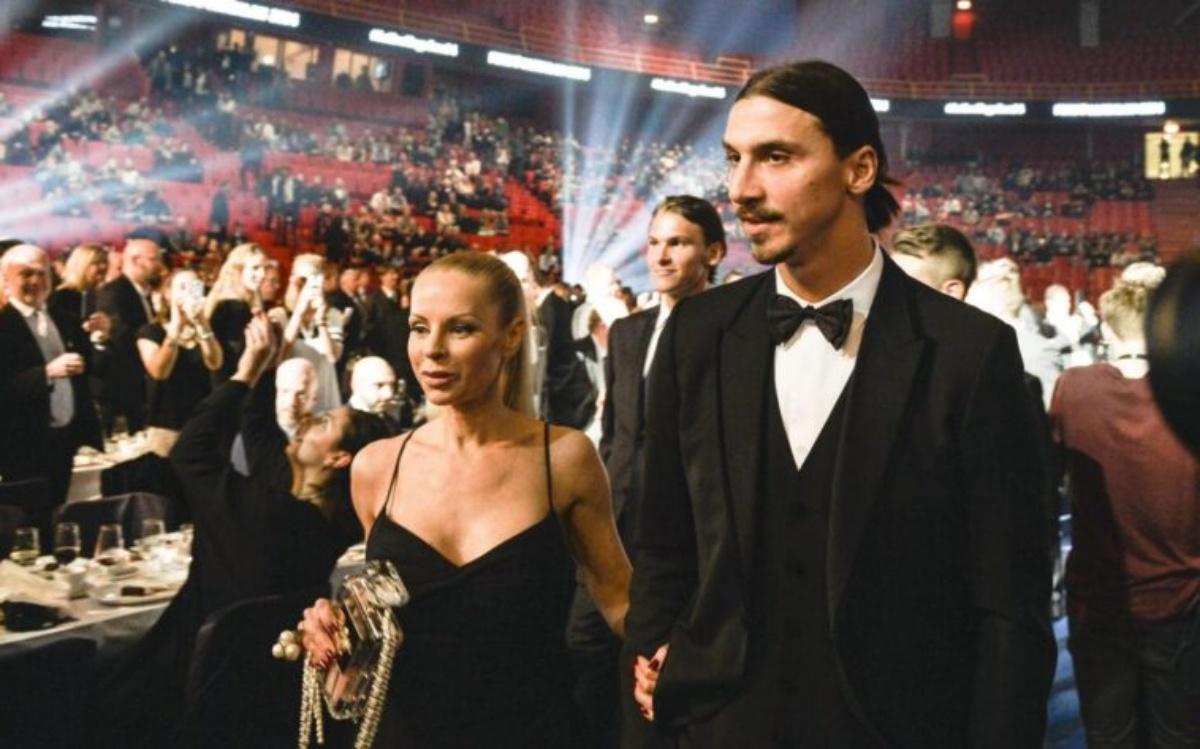 Chi è la compagna di Zlatan Ibrahimovic
