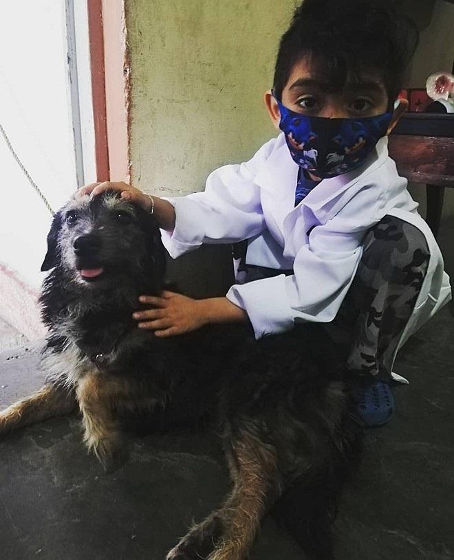 Jonathan Oziel  sarà un veterinario