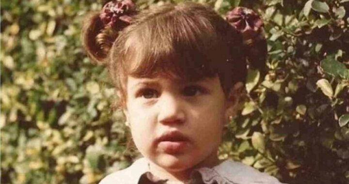 Cecilia Rodriguez da bambina
