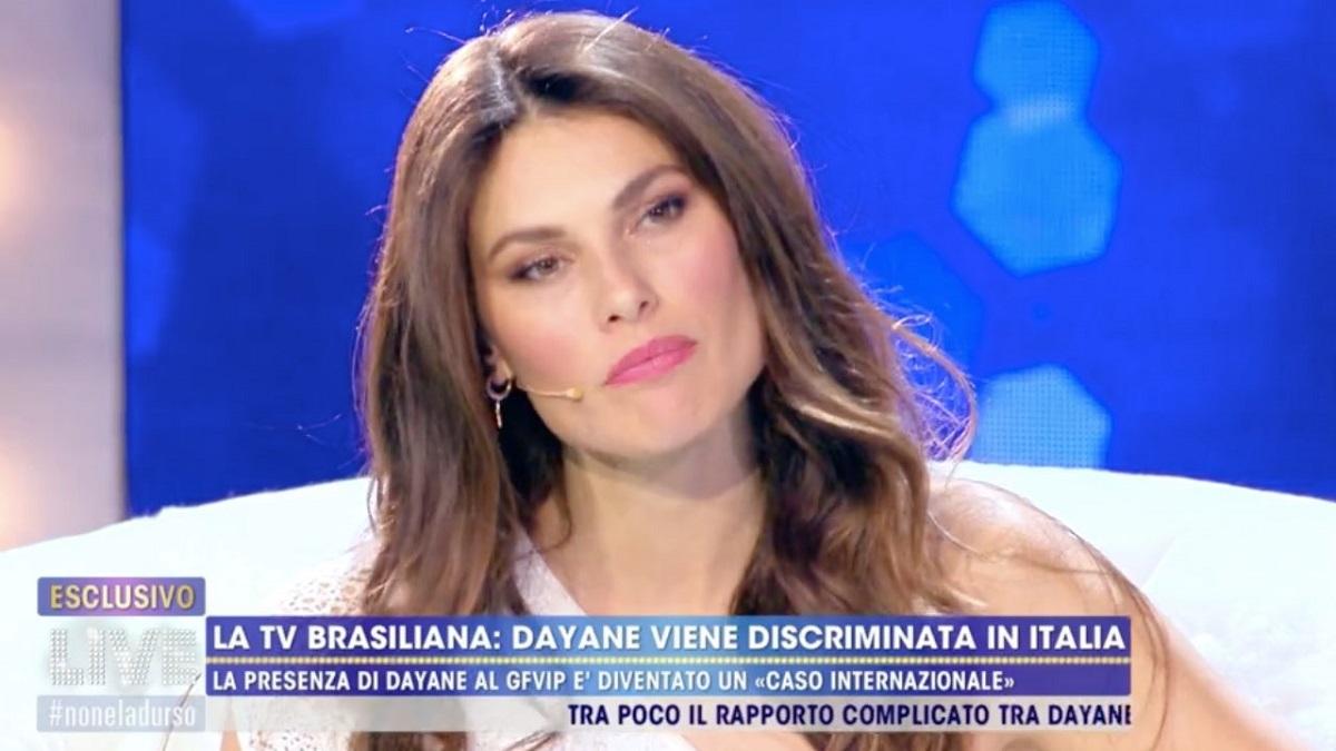 Dayane Mello, forte attacco a Francesco Oppini
