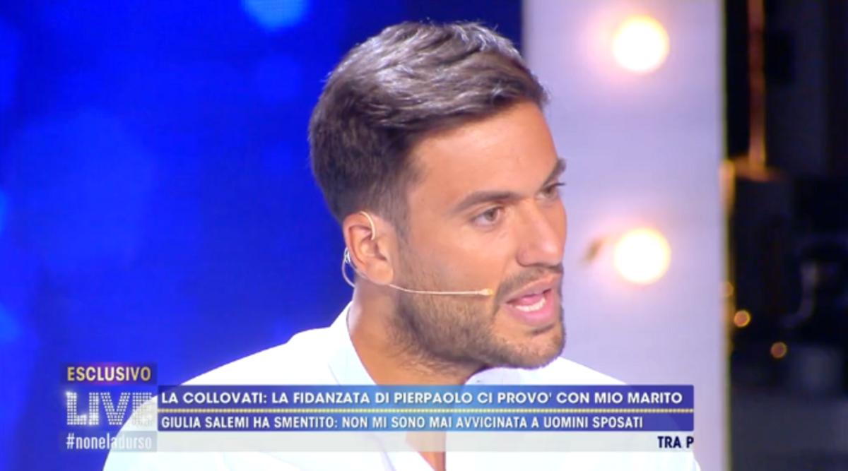 GF Vip: Pierpaolo Pretelli difende Giulia dalle accuse della Collovati