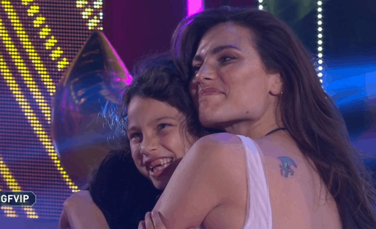 GF Vip, rincontra sua figlia Sofia Dayane Mello